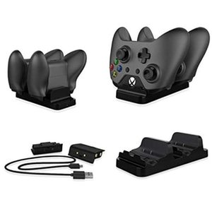 Dual Charging Dock Controller Charger 2pcs Rechargeable Batteries for XBOX ONE X Rechargeable Battery Best Dual Charging Station 1pcs