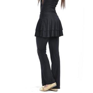 jupe pantalon jupe gros carré pantalon Latin ventre Costumes Latin Dance LD0030 #