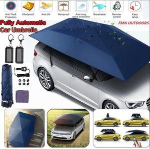 Folding automatica telecomandata Auto ombrello, portatile Protezione Auto Auto Tenda Parasole, mobile coperto Canopy