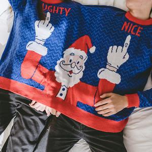 Camisola do Natal das mulheres dos homens do velo de inverno sweater casal de Camisolas feias camisolas Natal Tops For Women Mens Pullovers Asiático Tamanho S-XL