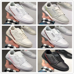 2020 Antique Continental 80 Rascal cuir x Kanye West Chaussures Casual Blanc OG Noir Aero Beige base Gris Rose Hommes Mode Chaussures 36-44