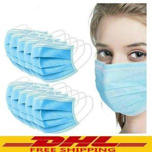Mask Fast Delivery Disposable Protective Mask to Safety Masks Dustproof Masks Prevent Disease Mask