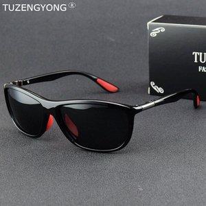TUZENGYONG Occhiali da sole polarizzati donne degli uomini di guida di vetro di Sun Sport Style Occhiali da pesca UV400 Occhiali Viaggi