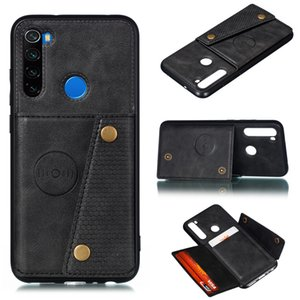 Redmi Note 8 Pro Card Holders Wallet Case Cover for Xiaomi Redmi K20 Note 7 Pro Mi 9t Leather Card Magnetic Stand Cover