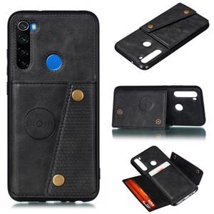 Redmi Note 8 Porte-cartes Pro Wallet Case Cover pour Xiaomi redmi K20 Note 7 Pro Mi 9t Carte en cuir support magnétique couverture