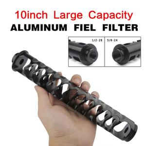 10 pouces 6 pouces prolongement en spirale 1 / 2-28 ou 5 / 24.8 Alliage filtre à carburant à l'unité de base pour NaPa 4003 WIX 24003 Solvent moto