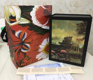 Caja de regalo de bolsos de hombro de mujer Marmont con accesorios de tarjeta de certificado de factura