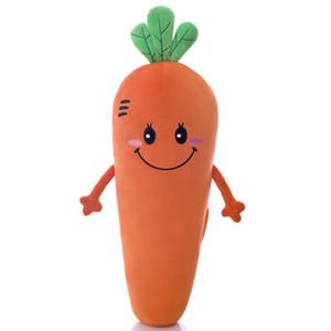 Пасха милые мягкие плюшевые PP хлопок морковь подушка выражение декомпрессии мягкие игрушки куклы для День святого Валентина