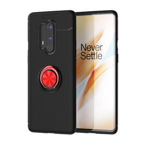 Slim Thin Soft TPU Cover Magnetic Bracket Kickstand Case For Oneplus 8 Pro One Plus 8 7T Pro 7 6T 6