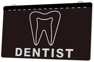 Ls1094 0 стоматолог зуб больница Rgb многоцветный пульт дистанционного управления 3d гравировка Led неоновый свет вывеска магазин бар паб клуб