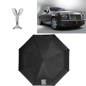 롤스 로이스 태양 우산 야외 태양 보호 자동 세 패션 우산 패션 골프 디자이너 우산 무료 배송