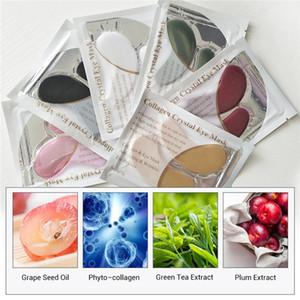 LANBENA 24K Gold Crystal Collagen Eye Mask Eye Patches Dark Circle Puffiness Eye Bag Face Care Mask 100pairs