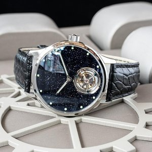 Sugess Tourbillon Master Mens Watch 2020 Blue GoldStone Limited Edition Luxury Business Watches Father Gift Seagull Movement