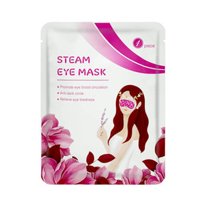 1Pcs Lavender Oil Steam Eye Mask Eye Care Sleep Patches Patch SPA Skin Eye Bags Fine Line Wrinkles Anti Aging Vision Care