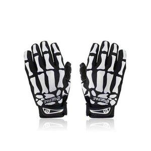 Cycling Otudoor Sport Racing Bicycle Motorcycle Ghost Skeleton Skull Bone Gloves