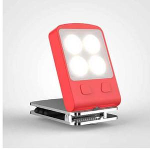 Taşınabilir LED Kitap Işık Dim Gece Lambası Ayrılabilir Esnek Klip USB LED Işık Şarj edilebilir Okuma Lambası katlayın CHENGYILT