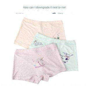 gp1Zm roupa interior de algodão cor modal boxeador pequenas, médias e tong cuecas de Nei ku tong nei ku crianças grandes calções bebê meninos das crianças a