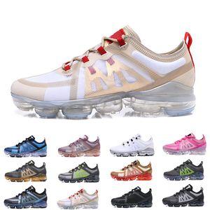 Nike air  airmax Vapormax TN Plus Run Utility Мужчины Кроссовки Лучшее Качество Черный Антрацитовый Белый Отражать Серебряные Скидка Обувь Спортивные Кроссовки NIK Размер