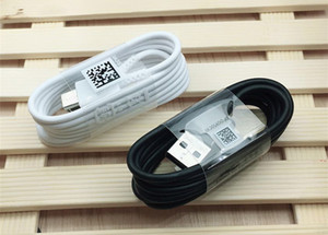 Hızlı Şarj USB Kablosu Kordon C tipi C Tipi İçin Galaxy S8 S9 S9 + S10 Artı Not Ekle 8 9 Android Telefonlar Şarj A +++ Orijinal OEM Kalite 1.2m 4ft