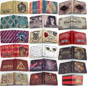 18 styles Kids Harry potter wallet PU wallet bags Children Cartoon game wallets coin purse bag Cartoon Figure Toys anime PU wallets dhl