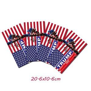 9 Styles Trump adesivos de carro Mantenha América Grande 2020 Trump presidente Adesivos americano Donald Trump Car Bandeira Etiqueta ZZA1947