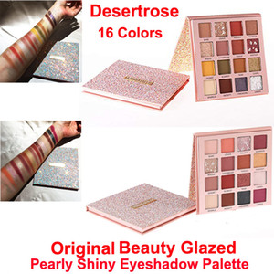 Makeup Eyeshadow Palette Beauty Glazed Desert Rose Eye Shadow Pearly Shiny Matte Eye Shadow 16 Colors Powder Nude Palette High Pigmented