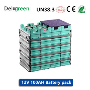 Batterie GBS LIFEPO4 12V 100AH per biciclette elettriche / utensili / falciatrice Batterie 12V di alta qualità con connettore gratuito GNE029