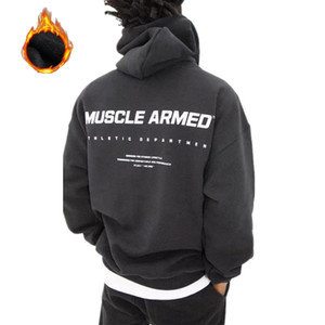 Mens Hoodies Sweatshirts Casual Fashion Style Pullover Autumn Winter Printing Pullover Hoodies with 3 Colors Asian Size