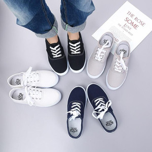 Canvas Shoes Designer Women Plus Size Loafers Fashion Casual Solid Flat Shoe Breathable Single Shoes Chaussures Outdoor Sports Shoe YP486