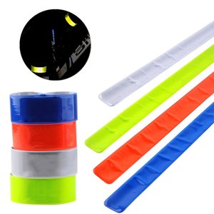 1PC Cycling Reflective Strips Warning Running Fishing Bike Safety Bicycle Bind Pants Leg Strap Reflective Tape