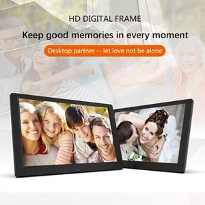 10 дюймов Пульт Цифровая фоторамка с фоновой музыкой Video HD Ips электронный экран поддерживает функцию автоматического Фото Флип