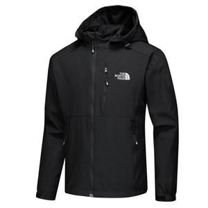 Männer Thin NF Außenlade Kleidung Reines Wasserdicht Atmungs Freizeit-Jacke 3 Farbe Mode Selbst Anbau