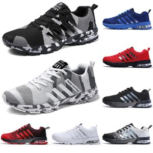 2020 running casual shoes men women black white blue grey Breathable cushion soft mens tainers outdoor sports sneakers size 36-45 Color6
