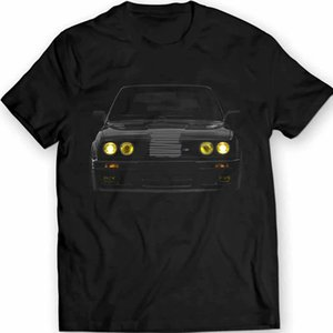 2020 New Cool Tee Shirt Germany Classic Car E30 Yellow Headlights T-Shirt M3 Power Bimmer 100% Cotton Fashion Cotton T-shirt