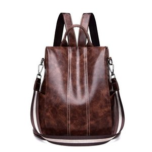 Fashion Women Backpacks High quality Anti-theft Ladies Messenger Bags mochilas para mujer bolsa feminina Handbag 02A