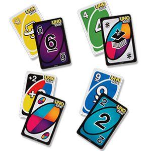 2019 Jeux de cartes UNO DOS sauvages flip Édition Conseil jeu 2-10 joueurs Gathering Party Game Entertainment Divertissement