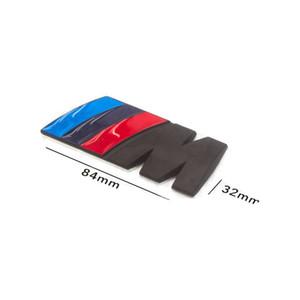 Автомобиль Стайлинг авто эмблема для Bmw M3 M5 M мощности спорт Metal M логотип эмблемы бренда заднего хвоста ствол Fender эмблема наклейка Decal