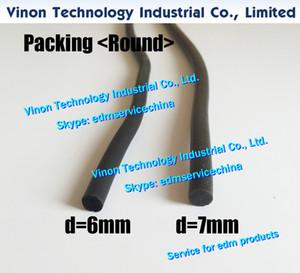 Edm Packing Round D6mm, 3032013, 3087032, 431169, 433065A Sodic Tank seal strip 6mm para Slide Plate (el precio unitario se vende en metros)