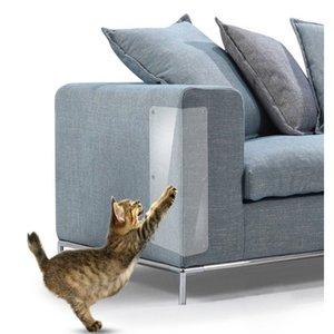 2pcs Anti Scratch Pet Garde à griffer Adhésif PVC Garde d'angle Cat Scratchers Furniture Protector Pet Supplies Autres fournitures Cat