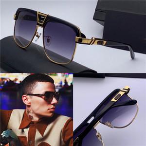 Occhiali da sole Design Popolare Occhiali da sole Moda Sunglasses 991 Square Mezzo-struttura Retro Punk Punk Glasses Glasses Top Quality Best-Seller Eyewear
