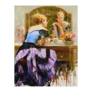 Pino Art Картина «зеркальный» Home Decor расписанной HD Печать Картина масло на холст Wall Art Canvas картинки 200614