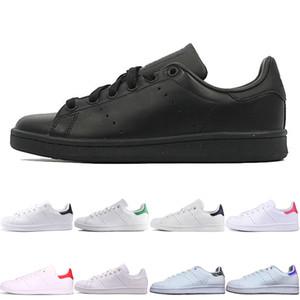 adidas stan smith 2019 novos homens smith Sapatos Casuais clássicos Femininos Sapatos Baixos triplo preto rosa azul verde Amantes Sapatos stan sapatilhas tamanho 36-45