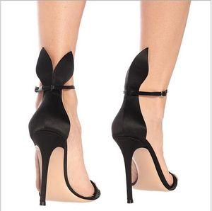 Европейские и американские модные сандалии Sardinia rabbit ear slim на высоких каблуках женские сандалии