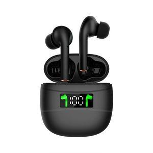 J3 Pro Hifi sem fio Bluetooth 5.2 LED fone de Exibição impermeáveis Earbuds ruído Sports Gaming Headset