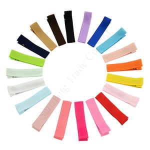 Venta al por mayor de Soild caramelo horquilla de muchachas de las mujeres de bricolaje Pasador colorido del bebé del clip del pelo de los niños regalos de los niños Accesorios Toca Hair Boutique E1901