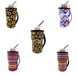 10PCS Neoprene Insulated Sleeves Cup Cover Cooler Holder For 20oz Tumbler Cup , Ozark Trail Rtic , Starbucks Venti Cold
