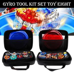 Gyro Kit Toy Batalha Tops Caso Toy Estádio Gyro Explosão Lançador Batalha Set Com Lançador Pião Bey Brinquedos Beyblade Explosão