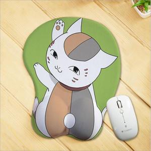 Anime em torno de personalização Criativa dos desenhos animados silicone pulseira mouse pad Personalidade 3d estéreo mouse pad