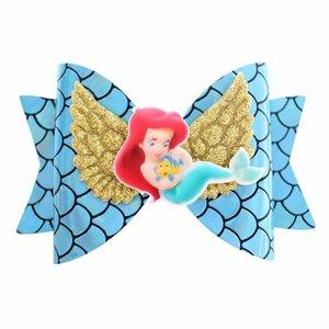 Neue ankunft Unicorn Wing Haarschmuck für Mädchen Kinder Prinzessin Glitter Hair Bows Clips Handgemachte Haarnadeln Nette Kinder Kopfschmuck