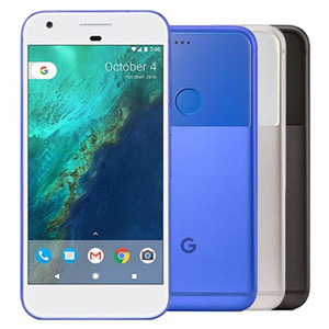 Восстановленный оригинальный Google Pixel 5.0 inch Quad Core 4GB RAM 32 / 128GB ROM Single SIM 4G LTE Smart Cell Phone DHL 1шт